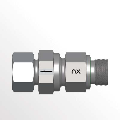 Check Valve with Male Stud - RSVV-M-WD