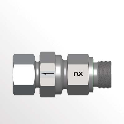 Check Valve with Male Stud - RSVV-R-WD