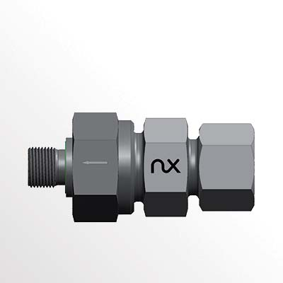 Check Valve with Male Stud - RSVZ-R-WD