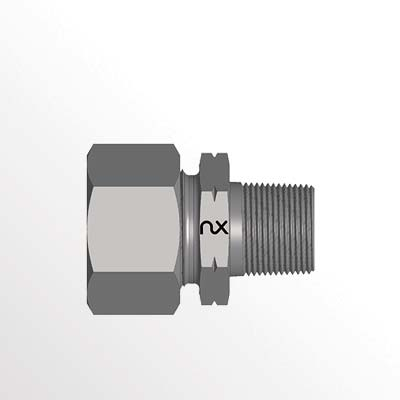 Male Stud Connector - GEV-NPT